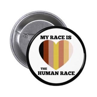 """Knopf der menschlichen Rasse (2,25"""") Runder Button 5,1 Cm"""