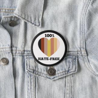 """Knopf der menschlichen Rasse (3"""") Runder Button 7,6 Cm"""