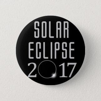 Knopf der Sonnenfinsternis-2017 Runder Button 5,1 Cm