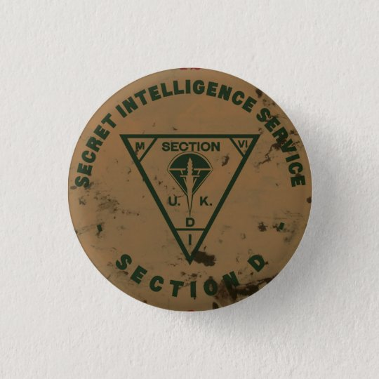 Knopf des Abschnitt-D SIS Runder Button 3,2 Cm