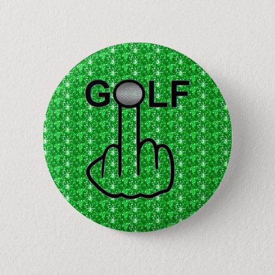 Knopf-Golf drehen um Runder Button 5,1 Cm