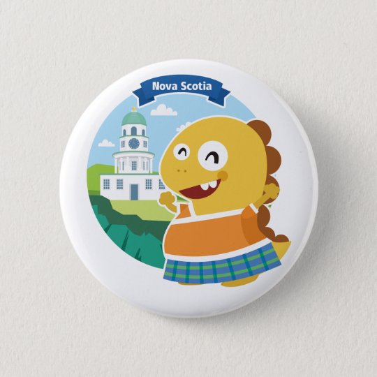 Knopf Neuschottlands VIPKID Runder Button 5,7 Cm