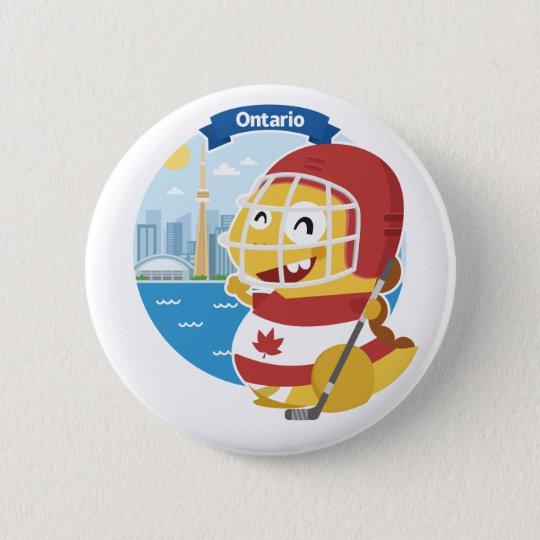 Knopf Ontarios VIPKID Runder Button 5,1 Cm