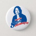 Knopf Sonia Sotomayor Runder Button 5,7 Cm