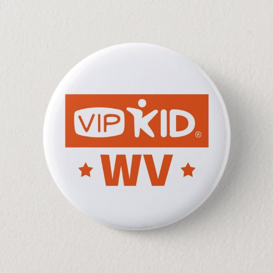 Knopf West Virginia VIPKID Runder Button 5,7 Cm