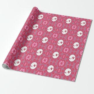 Knospen-Blumenblatt-Mandala-Verpackungs-Papier des Geschenkpapier