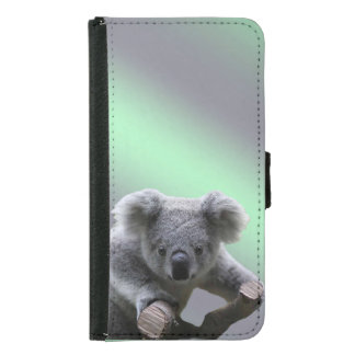 Koala-Bär Samsung Galaxy S5 Geldbeutel Hülle