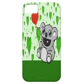 Koala-Herz-Ballon iPhone 5 Etui