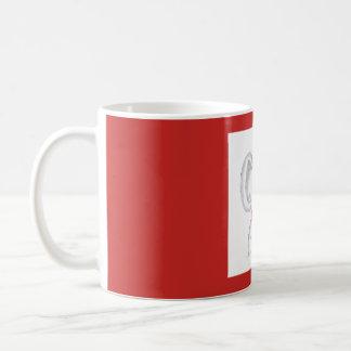 """""""Koala mit einer Schale heißem Kaffee"""" Tasse"""