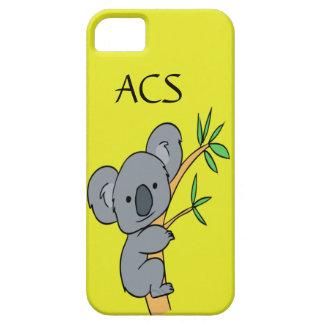 Koala-Monogramm iPhone 5 Etuis