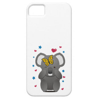 Koala und Schmetterling Hülle Fürs iPhone 5