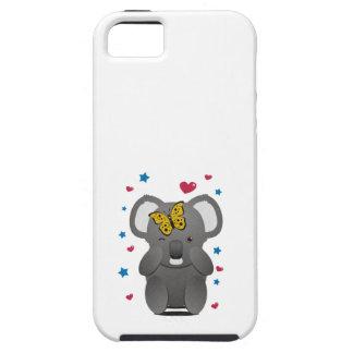 Koala und Schmetterling iPhone 5 Etuis