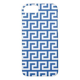 Kobalt-Blau iPhone 7 Hüllen - Windungs-Muster