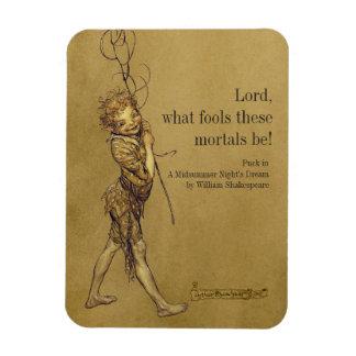 Kobold-Lord Arthurs Rackham welcher Dummköpfe Magnet