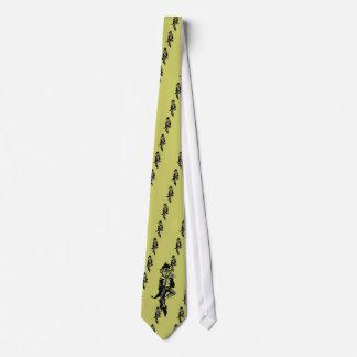 Kobold mit Flöte Personalisierte Krawatte