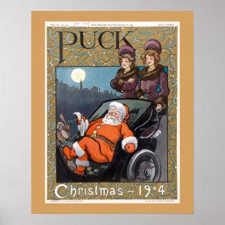 Kobold-Titelseiten-Weihnachten 1904 Poster