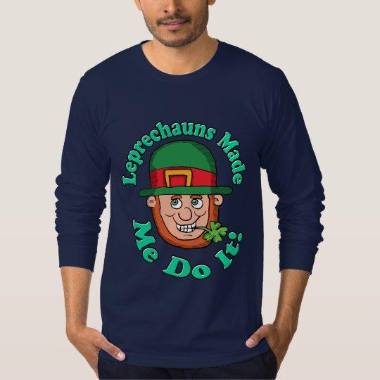 Kobolde ließen mich es tun T-Shirt
