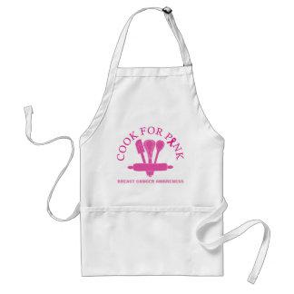 Koch für rosa Brustkrebs-Bewusstseins-Schürze Schürze