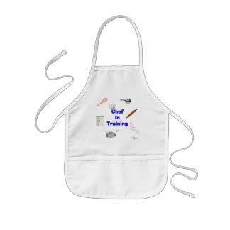 Koch im Training Kinderschürze
