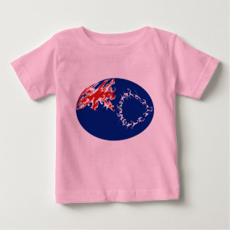 Koch-Insel-Gnarly Flaggen-T - Shirt