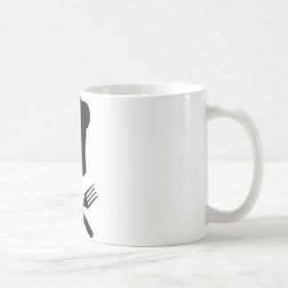 Koch-Kochshut-Restaurantkochen Kaffeetasse