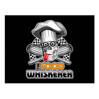 Kochen des Spaßes: Nahrung Whiskerer 5 Postkarte