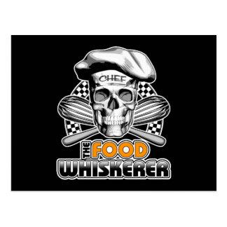 Kochen des Spaßes: Nahrung Whiskerer 6 Postkarte