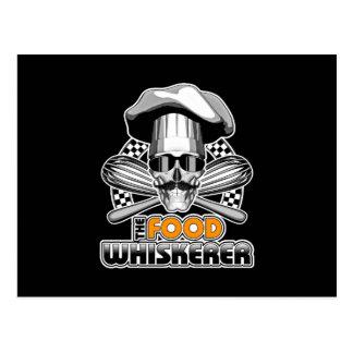 Kochs-Spaß: Nahrung Whiskerer v2 Postkarte