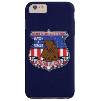 "Kodiak Alaska ""bleu marine d'aéroport de la garde Coque Tough iPhone 6 Plus"