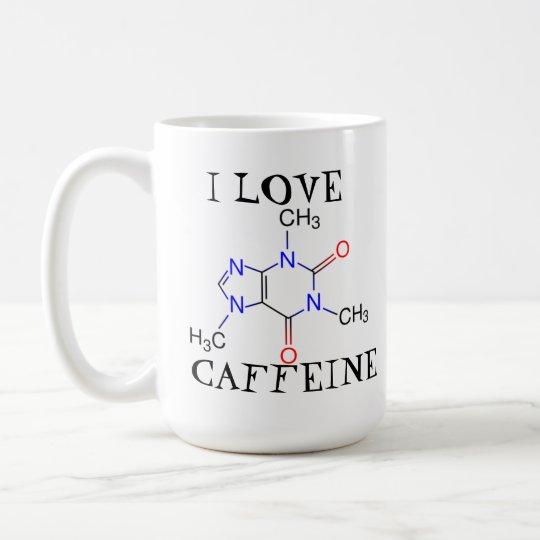 Koffein der Liebe I Kaffeetasse
