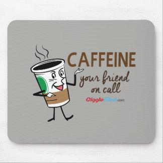 Koffein, Ihr Freund beim Anruf Mauspads