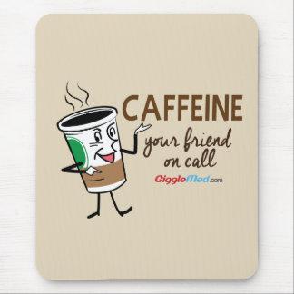 Koffein, Ihr Freund beim Anruf Mousepad