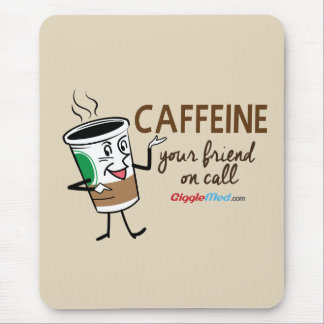 Koffein, Ihr Freund beim Anruf Mousepads