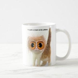 Koffein-Katze Kaffeetasse