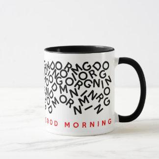 Koffein planiert die rechtshändige tasse