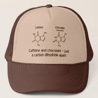 Koffein und Schokolade Truckerkappe