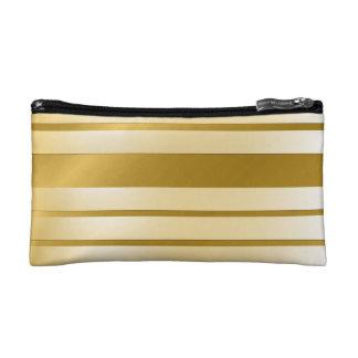 Koffer von kleinem ModellMake-up GOLD Lignes Makeup-Tasche