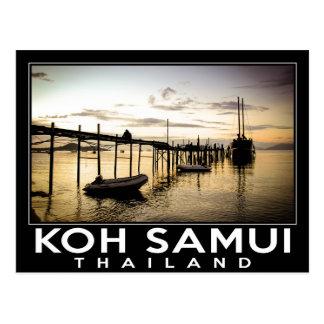 KOH Samui Thailand Postkarte
