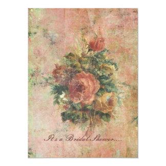 Kohl-Rosen-Brautpartyeinladung 14 X 19,5 Cm Einladungskarte