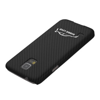 Kohlenstoff-Faser-Hintergrund WTI Impreza w/Faux Samsung S5 Hülle