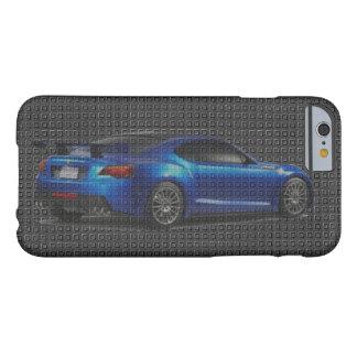 Kohlenstoff-Sport-Auto-schnelles und wütendes Barely There iPhone 6 Hülle