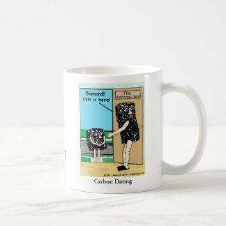 """Kohlenstoff verabredete "" Kaffeetasse"