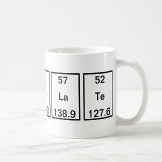 Kohlenstoffholmium-Kobalt-Lanthan-Tellur Kaffeetasse