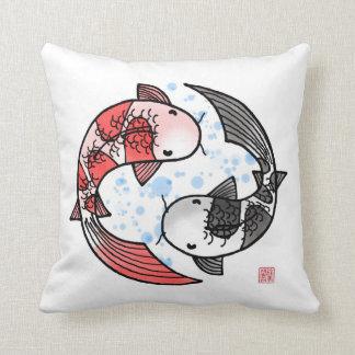 Koi Fisch-Kissen Kissen