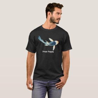 Koi FischePreppy Penguin-Schwarz-T - Shirt