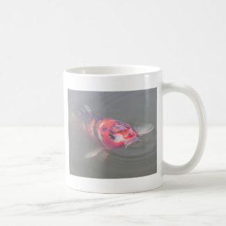 Koi Teich Kaffeetasse