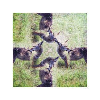 Kojote-Geist Leinwanddruck