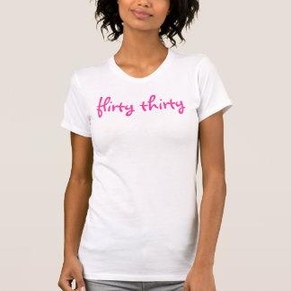 Kokettes Shirt dreißig