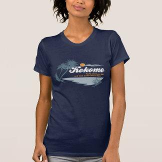 Kokomo 80er Retro Pop-Kultur-grafische Dunkelheit T-Shirt