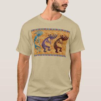 Kokopelli 3D Anasazi Ureinwohner-Motiv T-Shirt